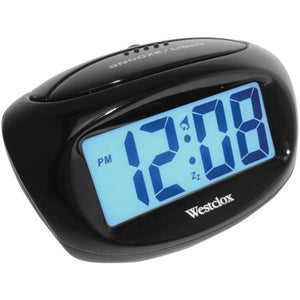 Westclox 70043x Large Easy-to-read Lcd Battery Alarm Clock -