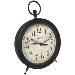 Westclox 75043 Top Ring Decor Alarm Clock - Home Goods &