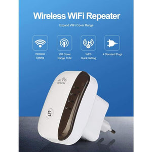 Long-Range 300 Mbps Wireless WiFi Extender - Electronics &