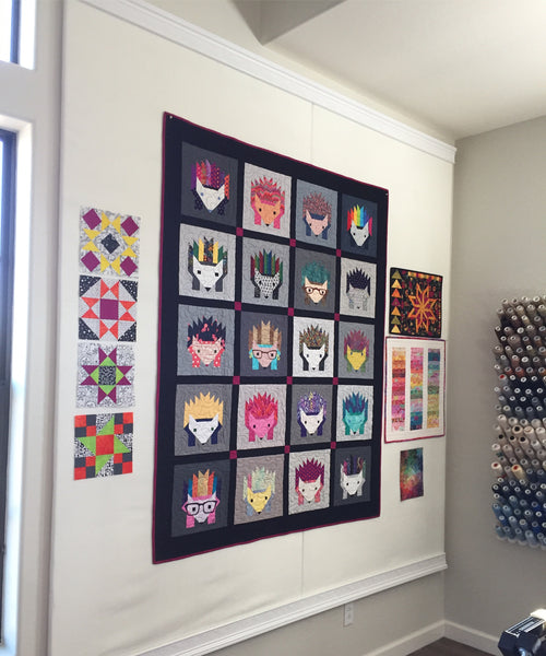 Design Wall For Quilting canton village quilt works | how to build a design wall