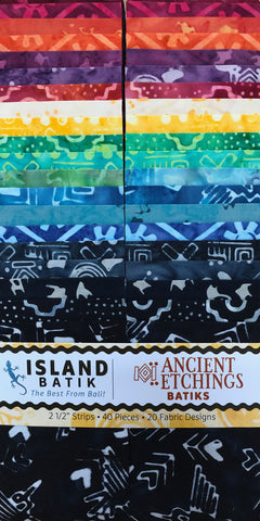 Island Batik Ancient Etchings Strip Pack
