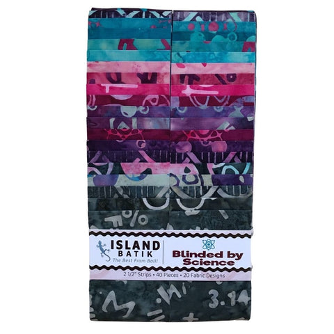 Island Batik Blinded by Science Strip Pack
