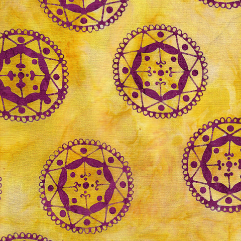 Island Batik Mandala Magic - Circles Sun 612006120