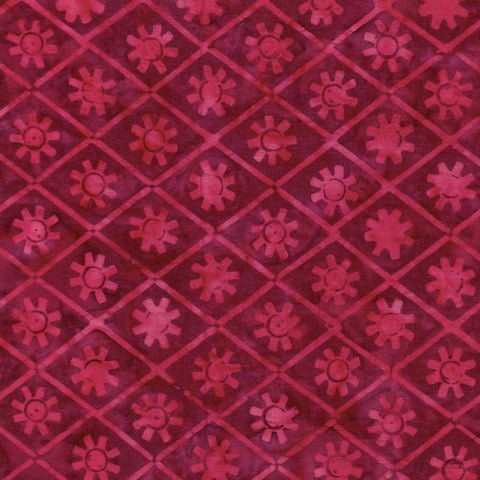 Island Batik Ancient Etchings - Sun-Fuchsia 621904355