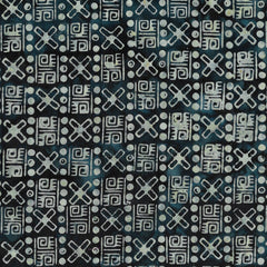 Island Batik Ancient Etchings - Weaving-Storm 621906590