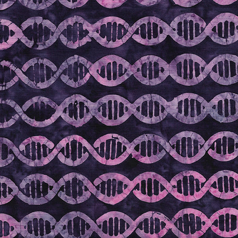 Island Batik Blinded by Science - DNA - Dark Iris -  622002486
