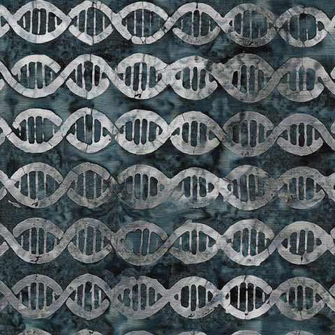 Island Batik Blinded by Science - DNA - Gun Metal - 622002740