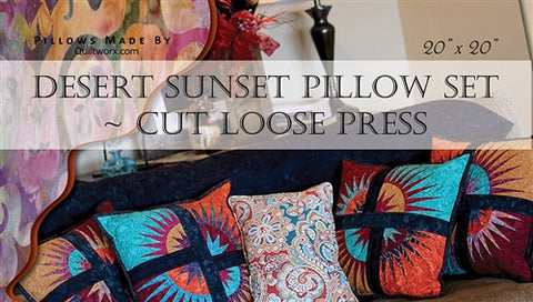 Desert Sunset Pillow Set Pattern