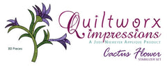 Cactus Flower Quiltworx Impressions Stabilizer Pack