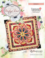 Vintage Rose Technique of the Month Queen Size