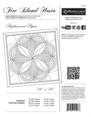 Fire Island Hosta Pattern Replacement Papers