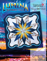 Lumina Feathered Star Queen Pattern (Seasonal Portraits)