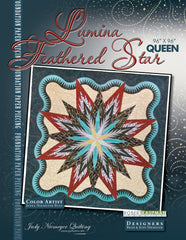 Lumina Feathered Star Queen Pattern