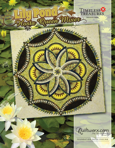 Lily Pond Hosta Queen Mixer Pattern