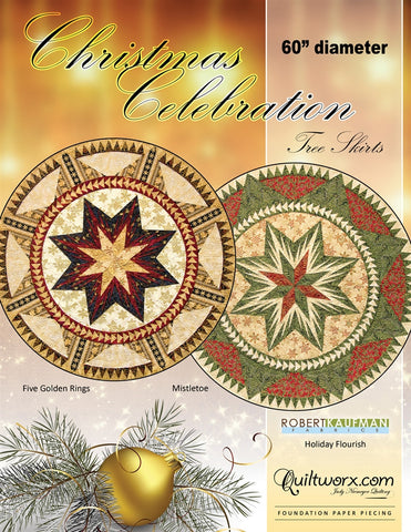 Christmas Celebration Tree Skirt Pattern