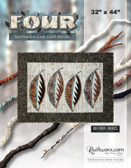 Four - Quiltworx.com Leaf Series