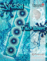 Splash Table Runner Pattern