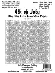 4th of July King Size Extra Foundation Papers