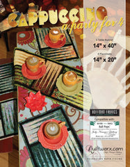 Cappuccino Placements & Table Runner Party for Four