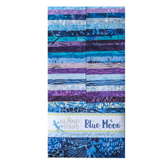 Island Batik Blue Moon Strip Pack
