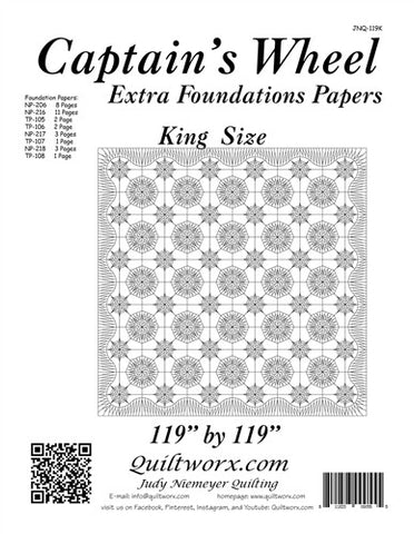 Captain's Wheel Extra Foundations Papers King
