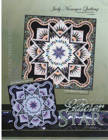 Glacier Star ~ Technique of the Month TOM Complete Pattern