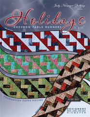 Holiday Chevron Table Runner Pattern