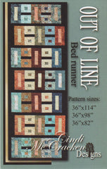 Out of Line Bed Runner Pattern