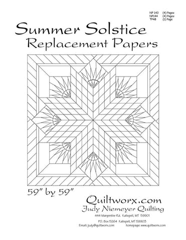 Summer Solstice Replacement Foundation Papers