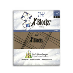 7.5 Inch X-Blocks Template
