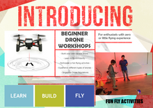 Load image into Gallery viewer, Drones - An Introductory Workshop for Beginners
