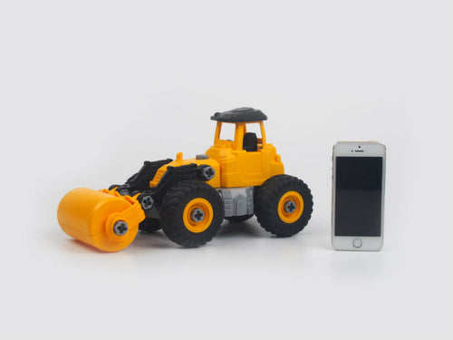 City Truck DIY Road Roller (A5)