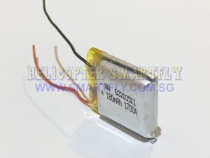 Lipo 3.7V 180mah Battery no connectors A