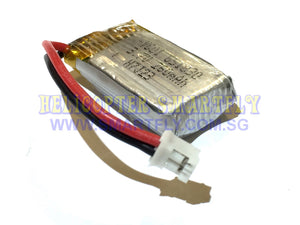 Lipo 3.7V 260mah Battery white connectors KK2DW B