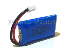 Load image into Gallery viewer, Lipo 3.7V 300mah Battery white connectors DM104 D