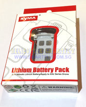 Load image into Gallery viewer, Lipo 3.7V 500mah Battery Modular X5UW & X5UW-D C