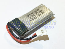Load image into Gallery viewer, Lipo 3.7V 550mah Battery Losi connectors X185 C