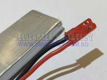 Load image into Gallery viewer, Lipo 3.7V 900mah Battery red JST connectors 8807W C