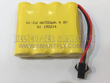 Load image into Gallery viewer, Ni-Cd 4.8V 700mah battery black connector R22 N