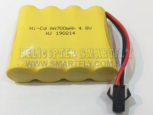 Ni-Cd 4.8V 700mah battery black connector R22 N