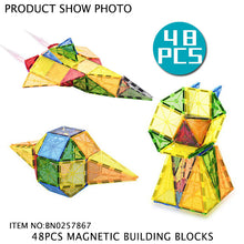 Load image into Gallery viewer, 48 pcs Magnetic Blocks