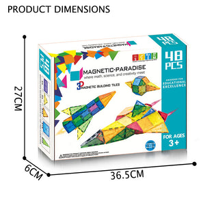 48 pcs Magnetic Blocks