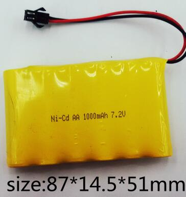 Ni-Cd 7.2V 1000mah battery black connector Ball Grabber N2
