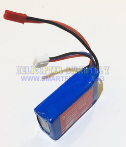 Lipo 7.4V 1100mah Battery red JST connector A959 50km R35