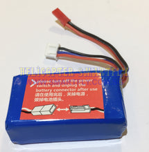 Load image into Gallery viewer, Lipo 7.4V 1100mah Battery red JST connector A959 50km R35
