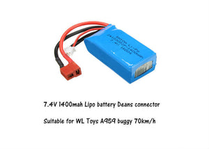 Lipo 7.4V 1500mah Battery Deans connector A959-B 70km R33