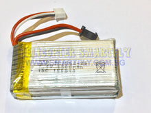 Load image into Gallery viewer, Lipo 7.4V 1500mah Battery black connector W609 D