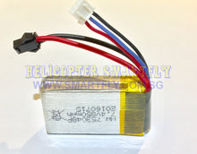 Load image into Gallery viewer, Lipo 7.4V 850mah Battery black connector JJ669 R1 F