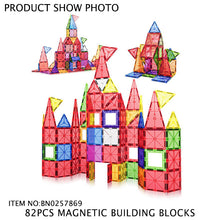 Load image into Gallery viewer, 82 pcs Magnetic Blocks