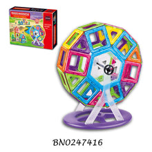Load image into Gallery viewer, 82 pcs Magnetic Blocks Ferris Wheel for STEM Learning
